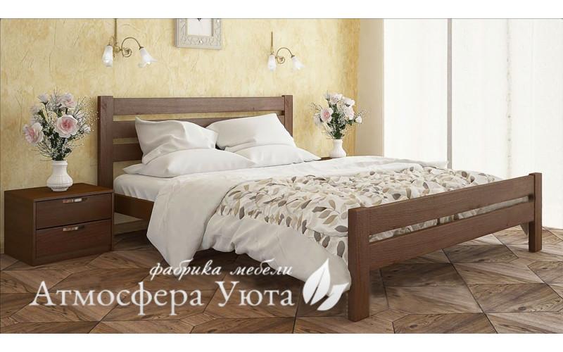 """Деревянная кровать """"Селена Люкс"""""""