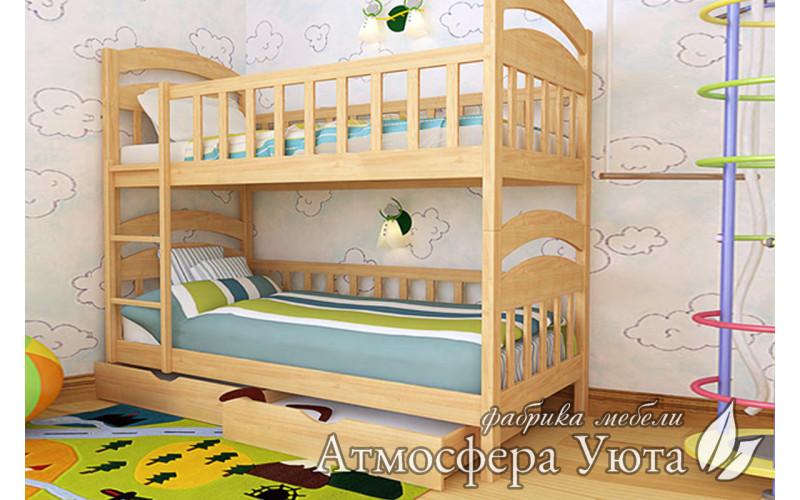 """Двухъярусная кровать """"Максим I"""""""