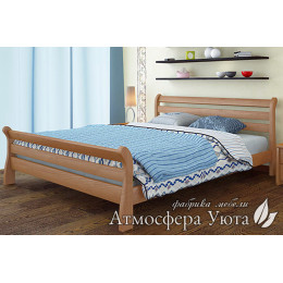 """Деревянная кровать """"ЛЕЯ Люкс"""""""
