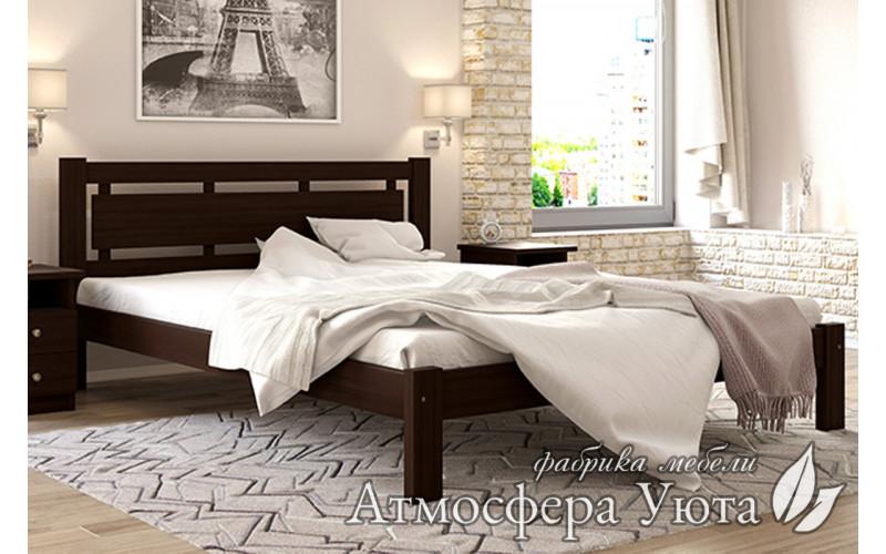 """Деревянная кровать """"ТЕА Плюс"""""""